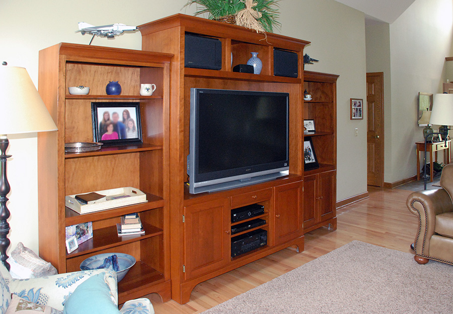 entertainment center for living room combination pool table dining room table custom. Black Bedroom Furniture Sets. Home Design Ideas