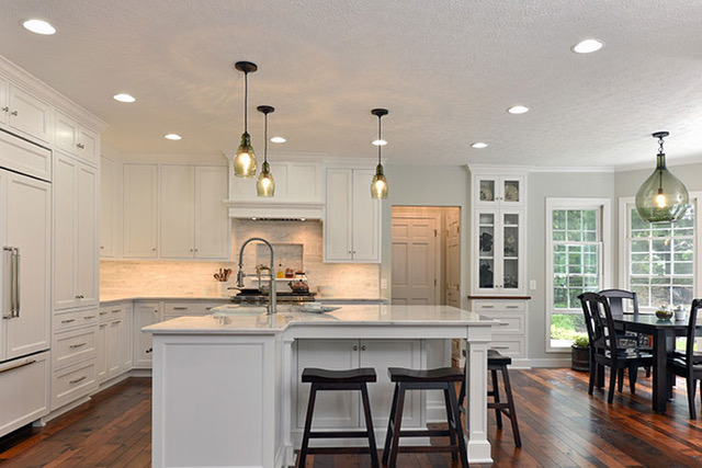 Aim to achieve layers of light in your kitchen