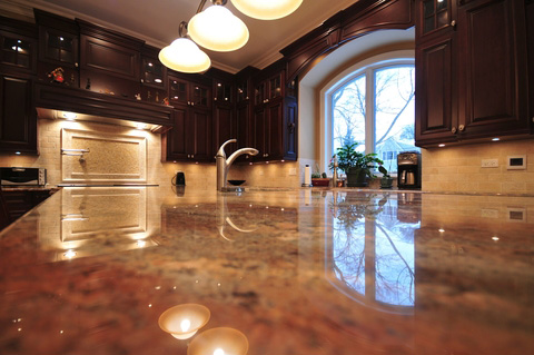marble countertops from lutes custom cabinetry
