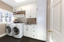 Unorganized Laundry Area? Custom Cabinets Are an Efficient and Attractive Solution